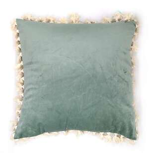 Ombre Home Country Living Tassel Cushion