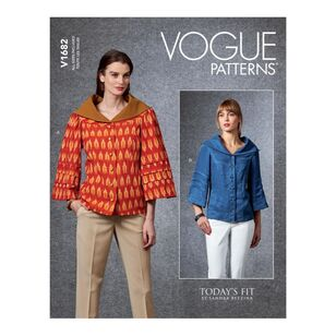 Vogue Pattern V1682 Misses' Top Today's Fit by Sandra Betzina