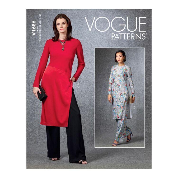 Vogue Pattern V1686 Misses' Tunic & Pants