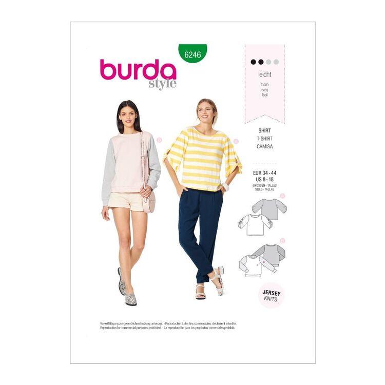 Burda Pattern 6246 Misses' Casual Tops