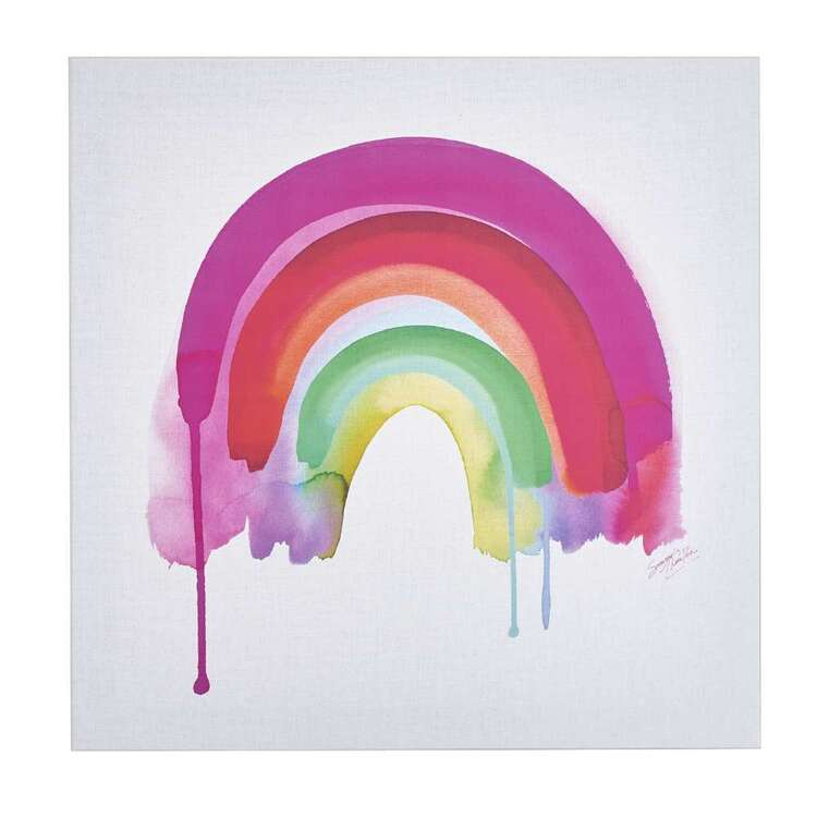 Tag Summer Thornton Rainbow Canvas Print