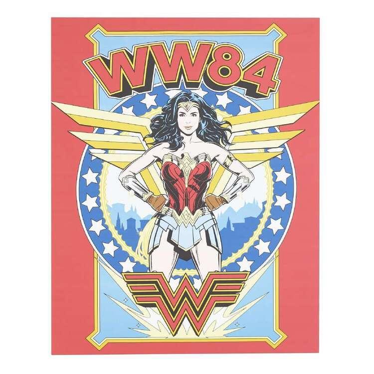Tag Wonder Woman Canvas Print