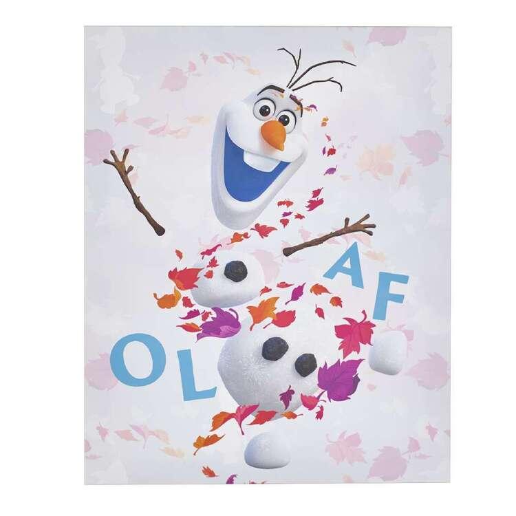 Tag Frozen Olaf Canvas Print