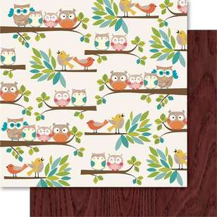 Ruby Rock-It Happy Days Hoot Printed Paper