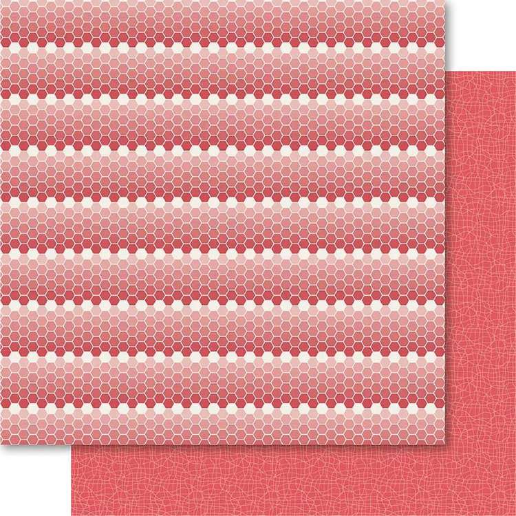 Ruby Rock-It Happy Days Buzz Printed Paper