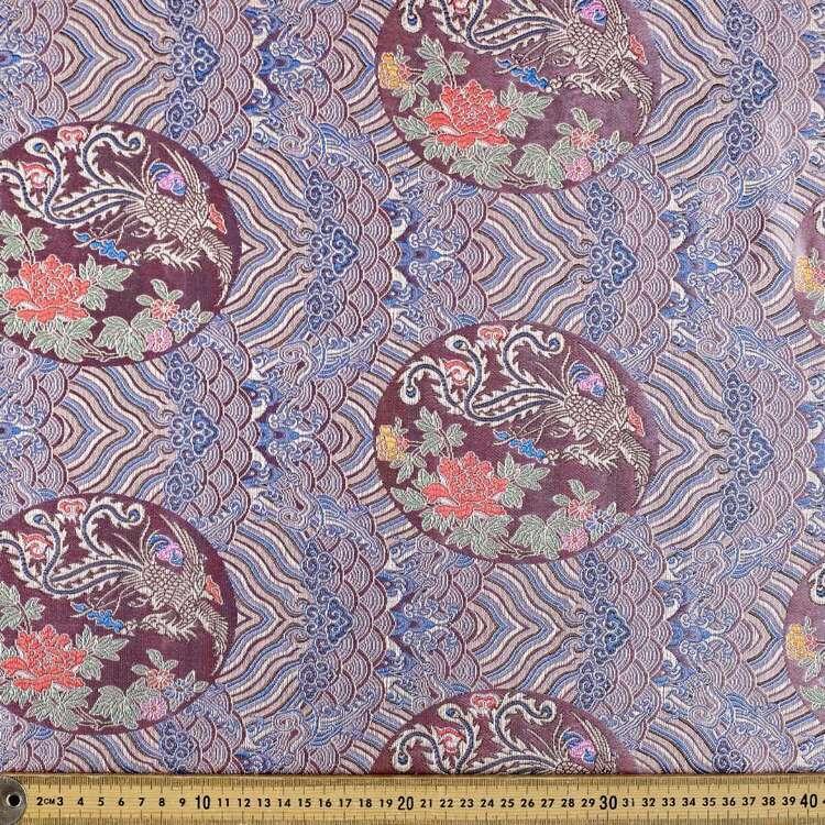 Phoenix Printed 145 cm Summer Brocade Fabric
