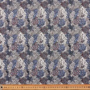 Rolling Cluster Printed 112 cm Cotton Poplin Fabric