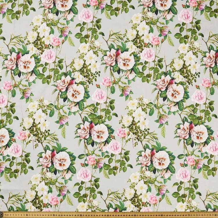 Vintage Treasures Digital Printed 127 cm Cotton Sateen Fabric