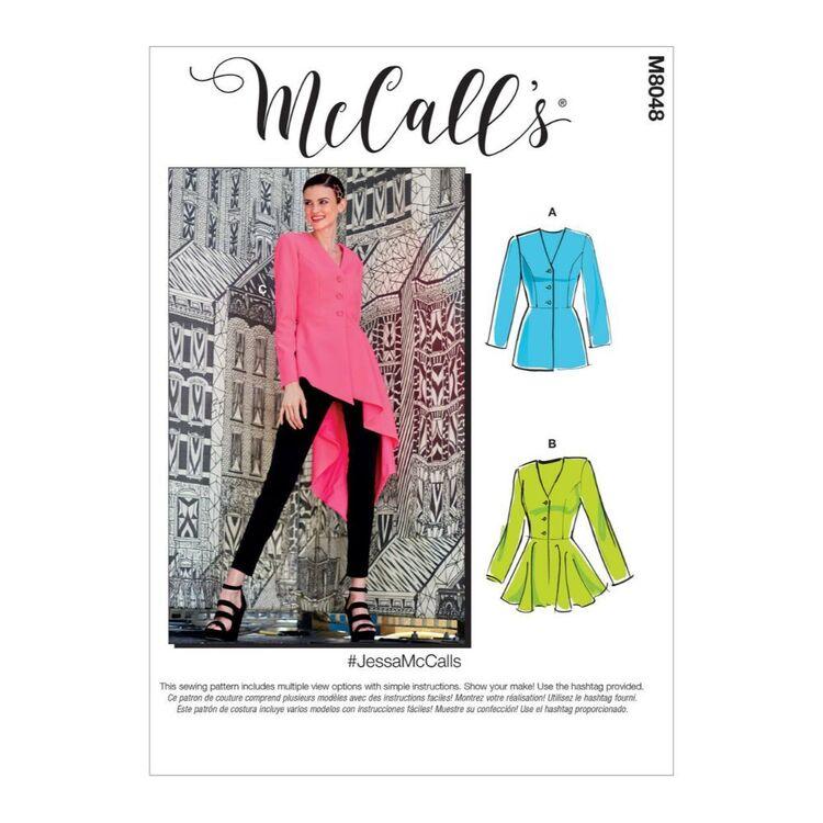 McCall's Pattern M8048 #JessaMcCalls - Misses' Jackets