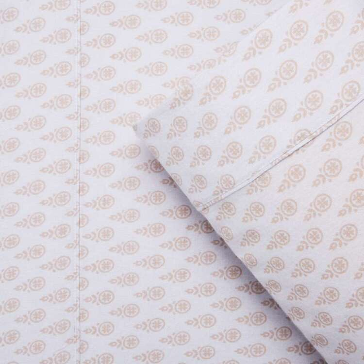 Hush Flannelette Printed Sheet Set
