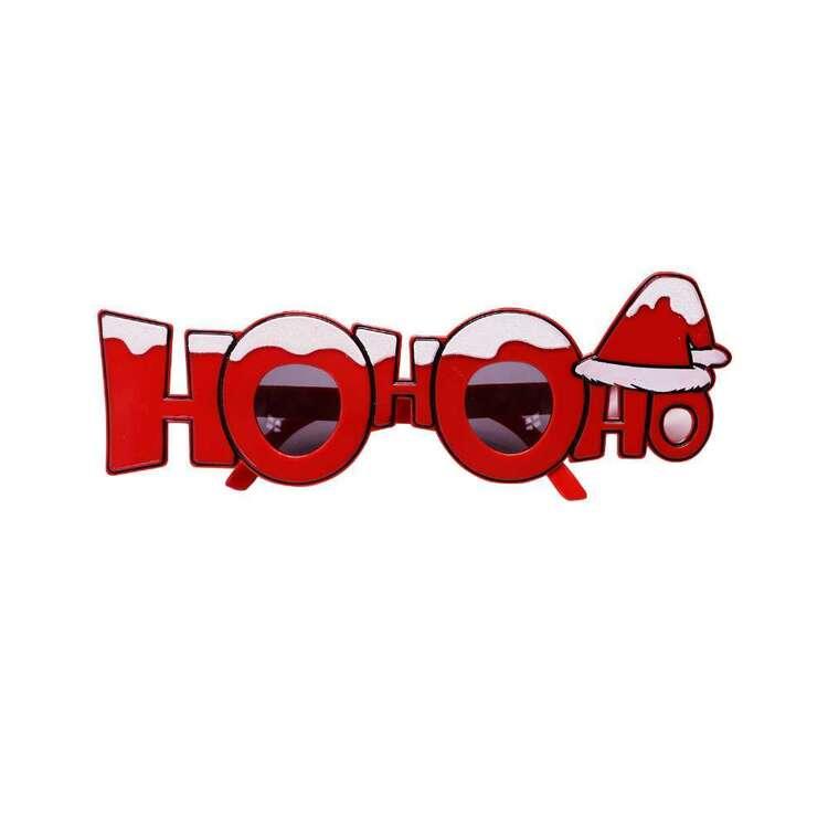 Jolly & Joy Novelty Ho Ho Glasses