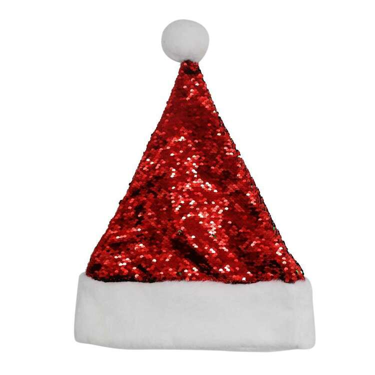 Jolly & Joy Reversible Santa Hat
