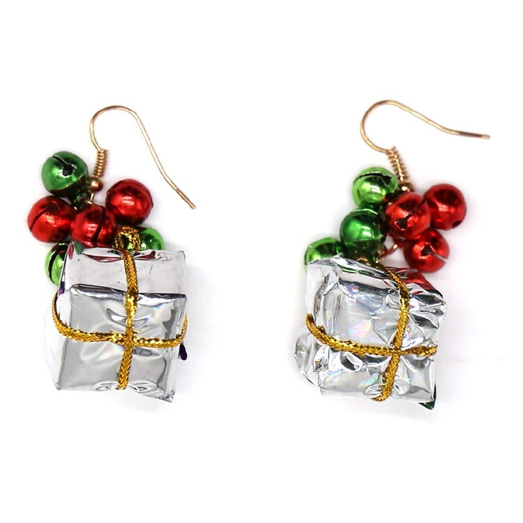 Jolly & Joy Christmas Gift Earrings