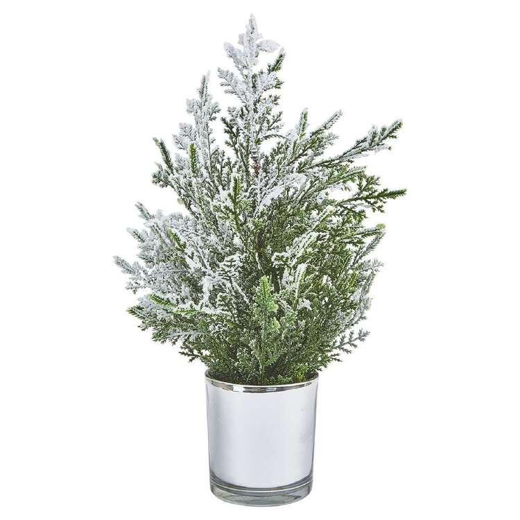 Bouclair Holiday Nostalgia Xmas Tree With Snow