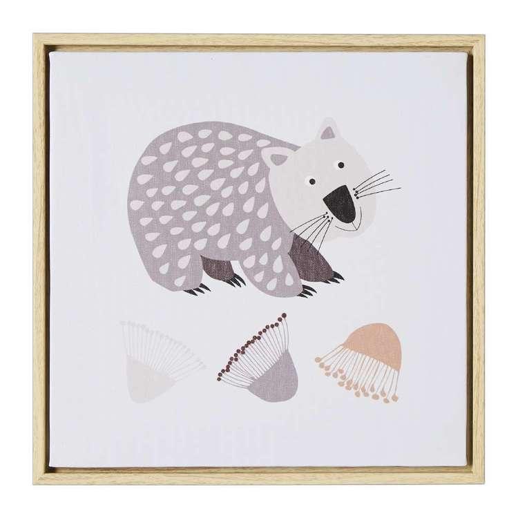 Koo Home Jocelyn Proust Wombat Framed Print