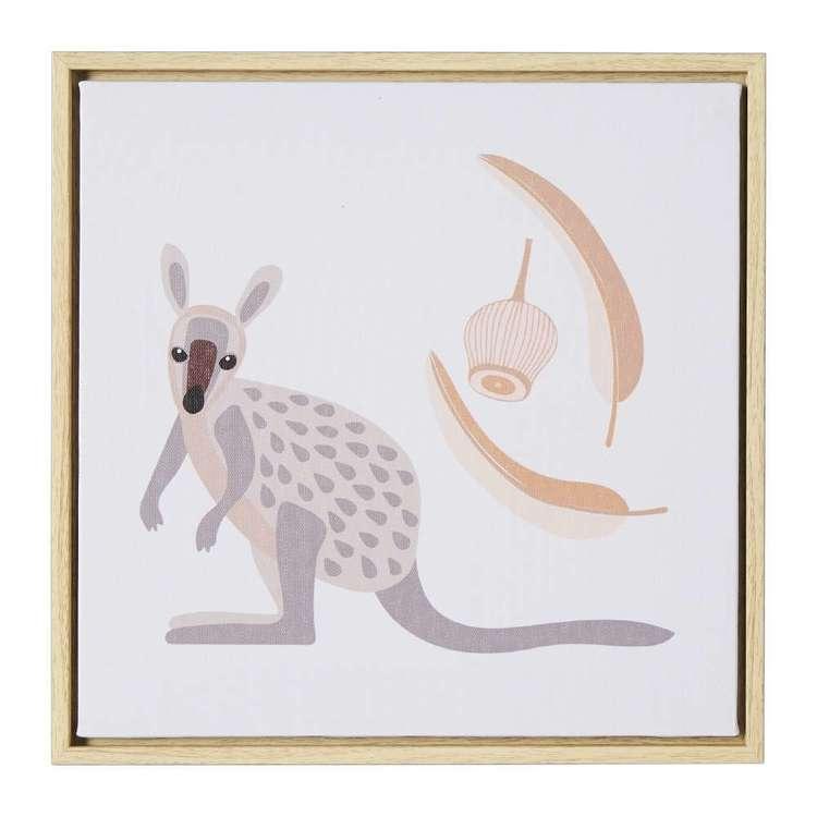 Koo Home Jocelyn Proust Kangaroo Framed Print