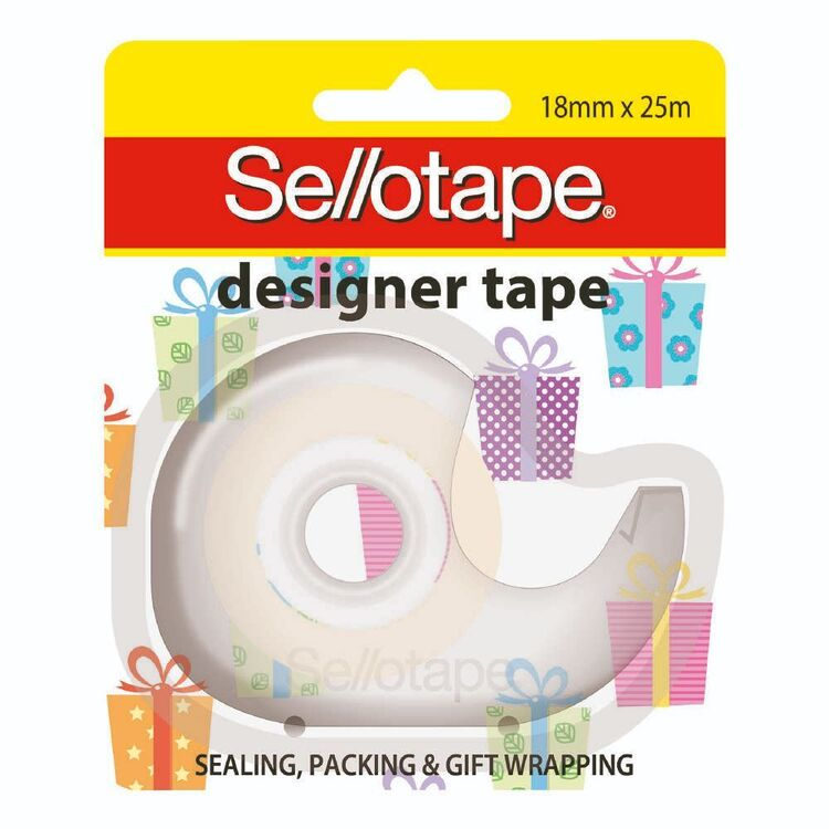 Sellotape Gift Boxes Designer Tape