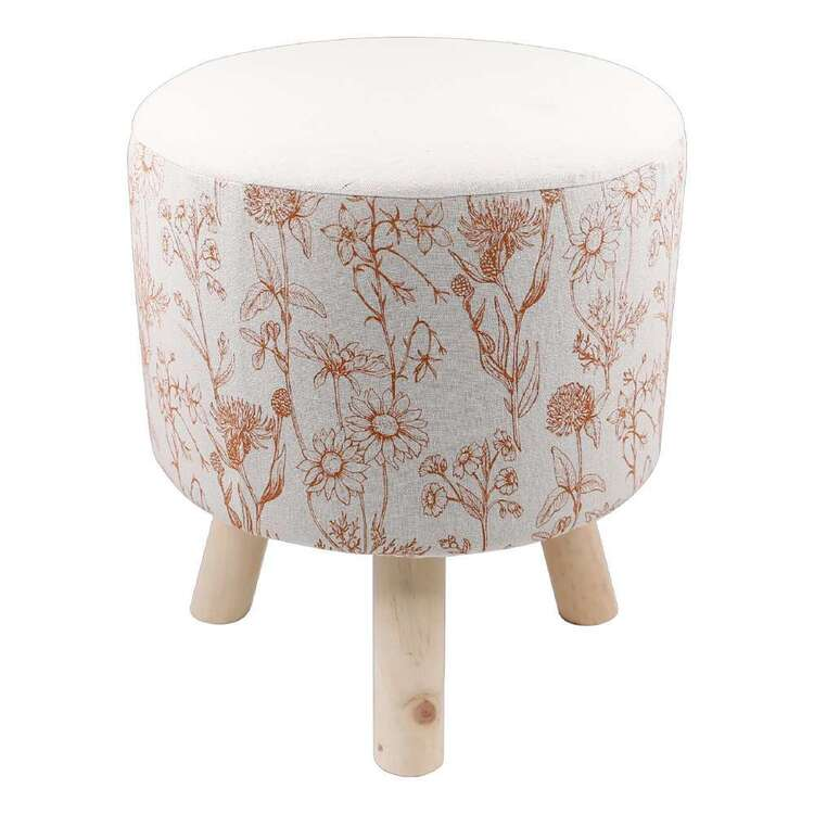 Ombre Home Spring Fields Printed Ottoman