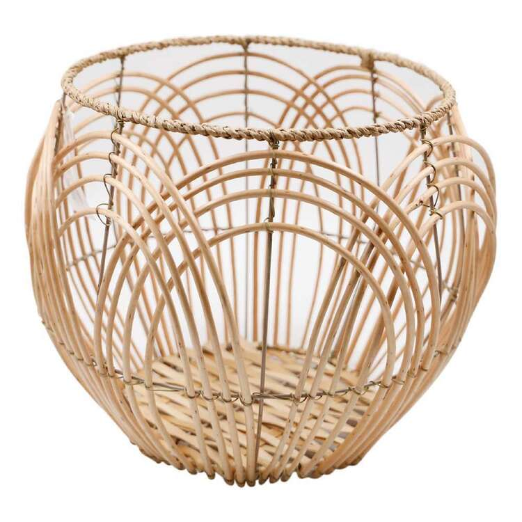 Ombre Home Spring Fields Cane Basket