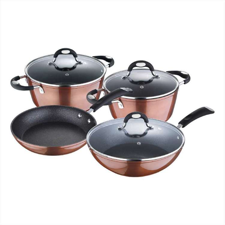 Bergner Pandora 7 Piece Cookware Set