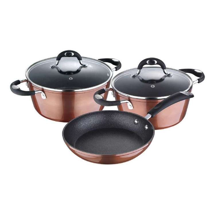 Bergner Pandora 5 Piece Cookware Set