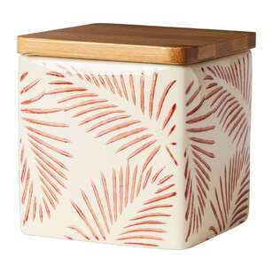 Kitchen By Ladelle Urban Palm Canister