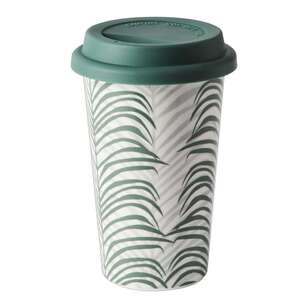 Dine By Ladelle Urban Banana Leaf Travel Mug