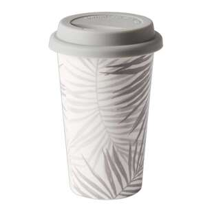Dine By Ladelle Urban Palm Travel Mug