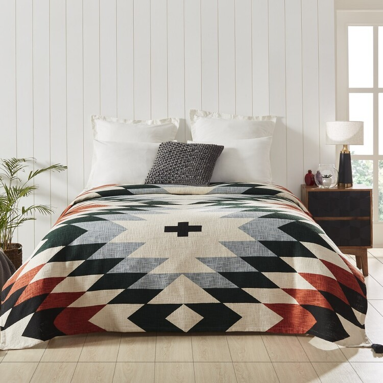 Luxury Living Aztec Throw