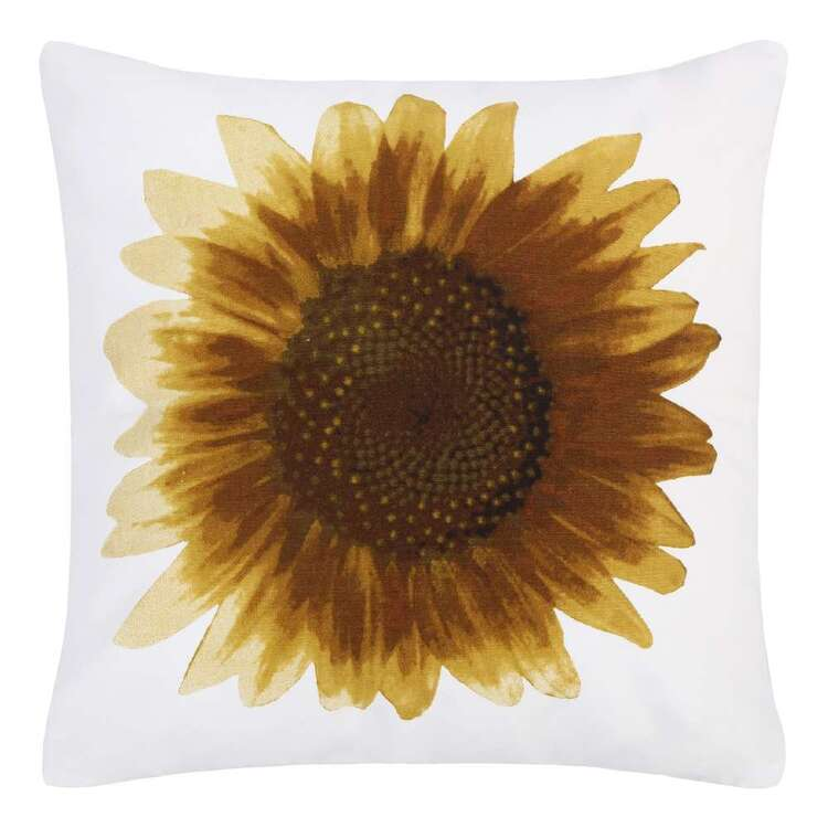 Ombre Home Spring Fields Daisy Cushion Yellow 45 x 45 cm