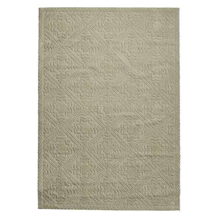 Koo Home Ula Jacquard Polyester Rug