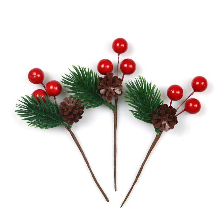 Jolly & Joy Berry Present Topper 3 Pack