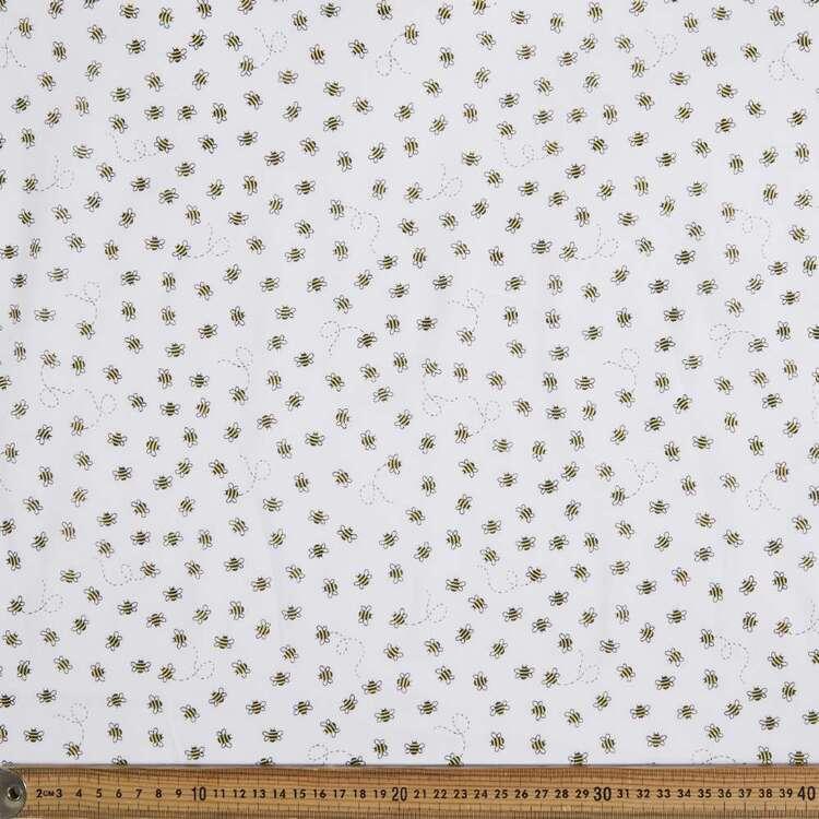 Buzzy Printed 138 cm Muslin Fabric