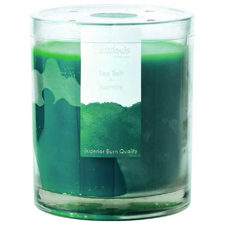 Shadows Sea Salt & Jasmine Large Candle