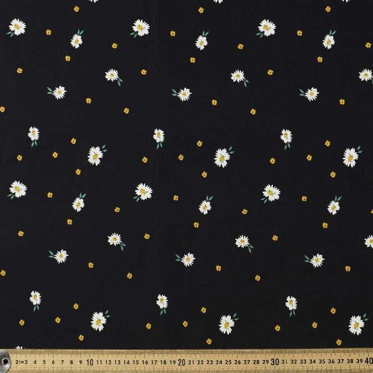 Daisy Printed 112 cm Cotton Poplin Fabric