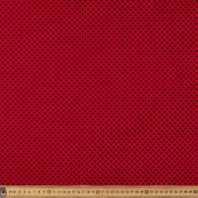 Spots Printed 112 cm Cotton Poplin Fabric