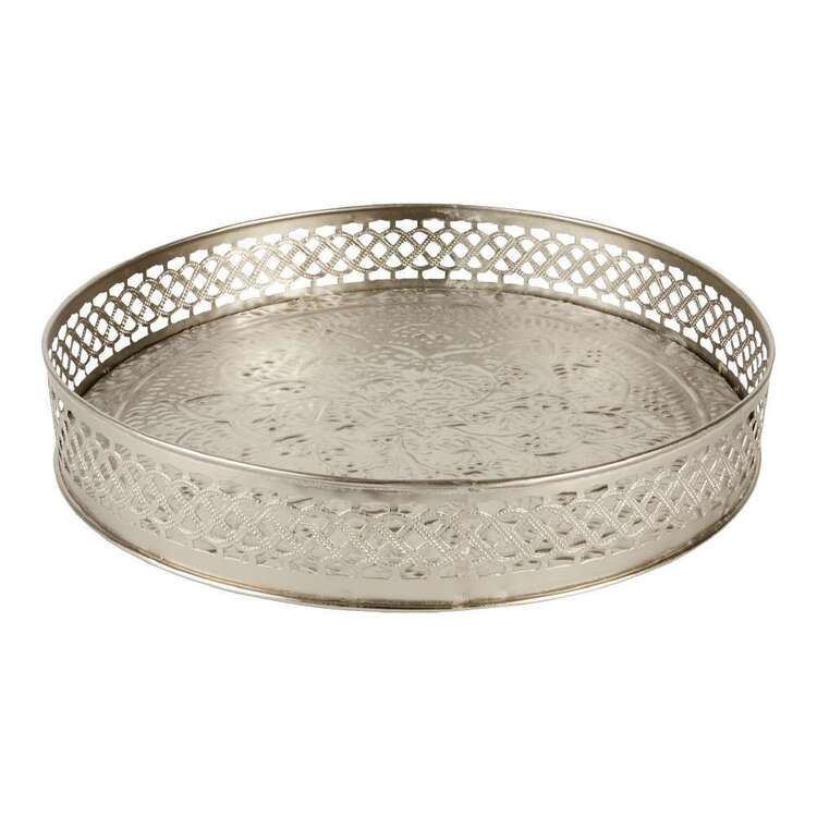 Living Space Metal Tray