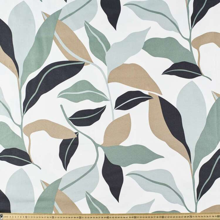 Palm Printed 112 cm Buzoku Cotton Duck Fabric