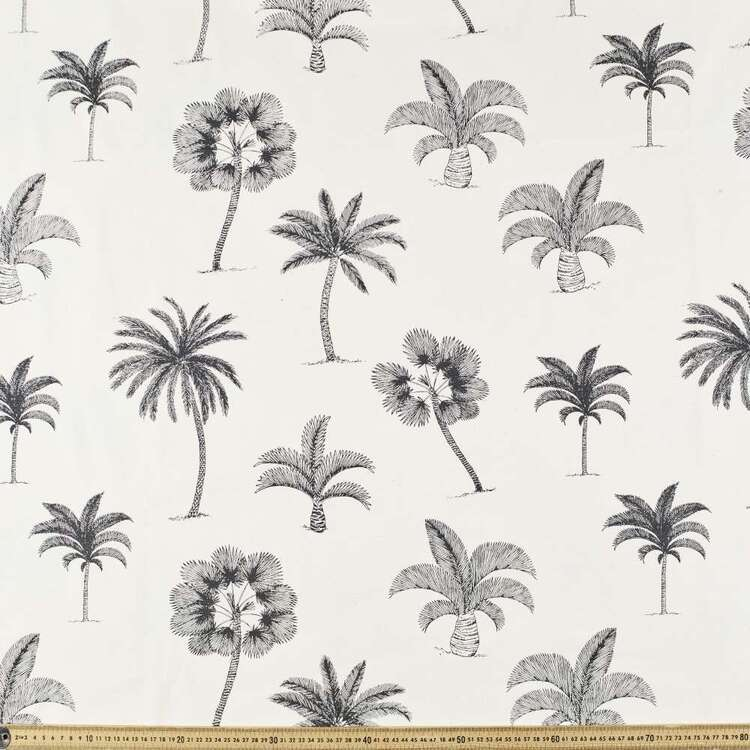 Palms Printed 112 cm Buzoku Cotton Duck Fabric