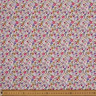 Rose & Hubble Packed Floral Cotton Fabric