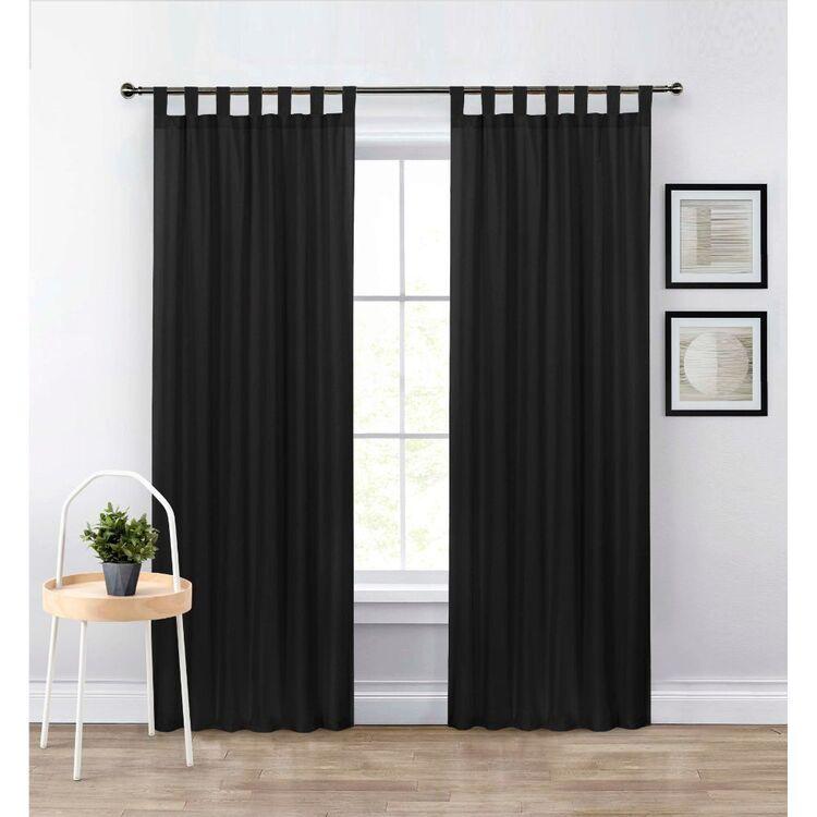 KOO Ayla Sheer Tab Top Curtain