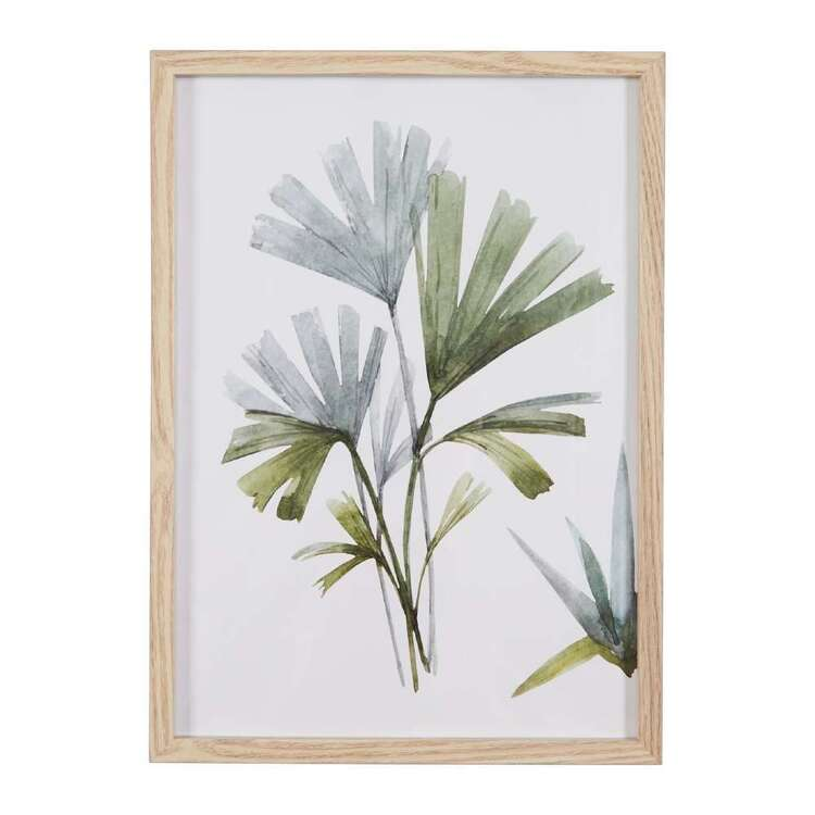 Cooper & Co Urban Sanctuary Abstract Leaf Framed Print