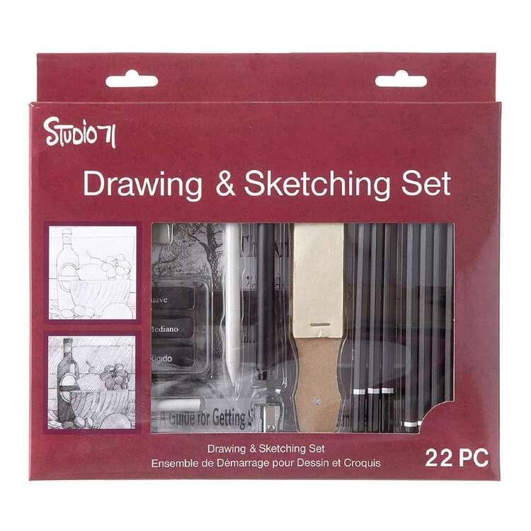 Studio 71 Beginner Sketcher & Drawing Set