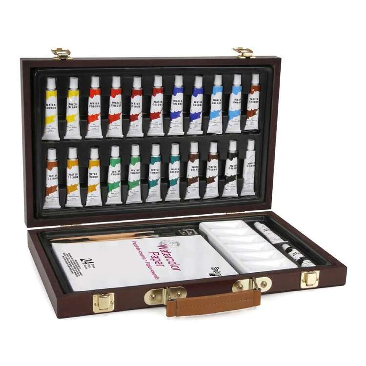 Studio 71 Watercolour Wood Box Set