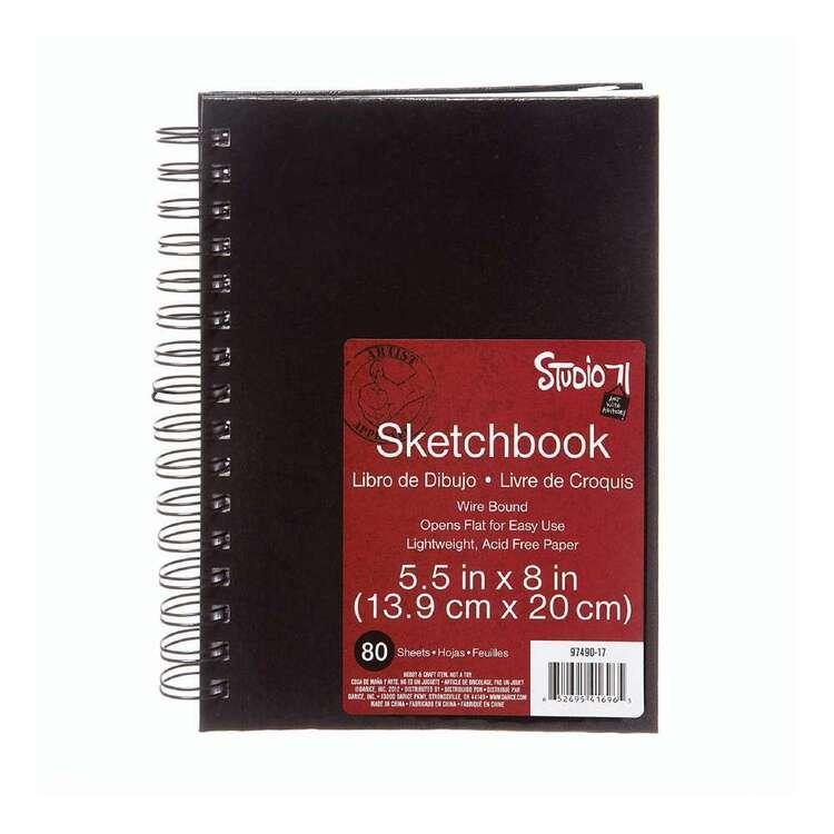 Studio 71 80 Sheets Black Sketchbook