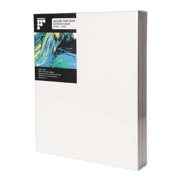 Francheville Gallery 2 Pack Deep Edge Canvas