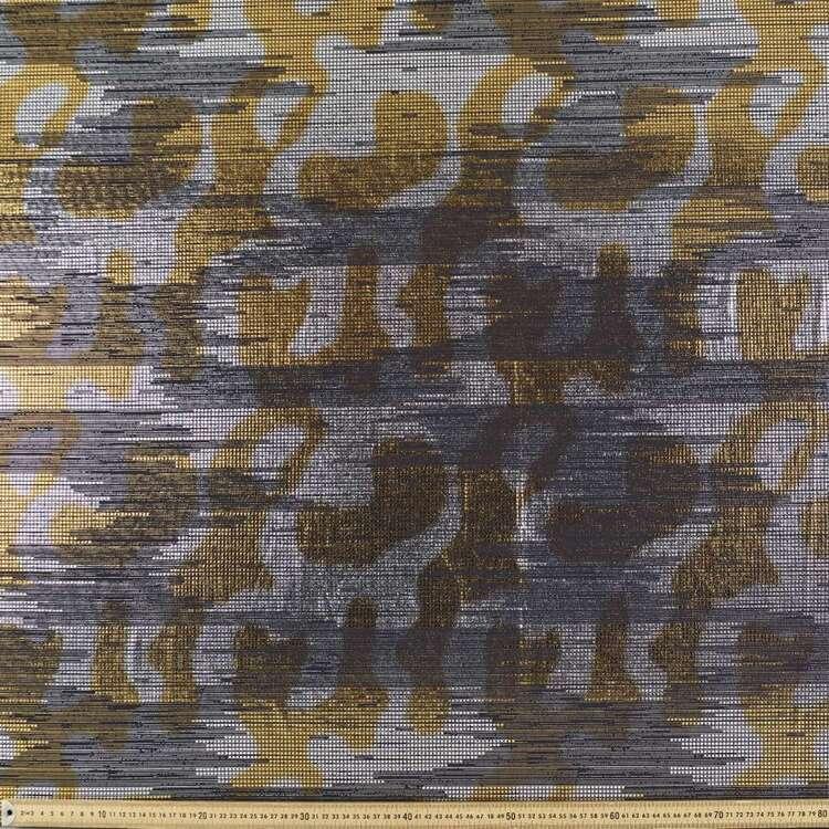Foil #2 Printed 148 cm Foil Dance Knit