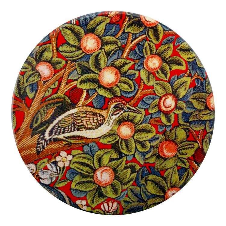 Casa Domani William Morris Woodpecker 10 cm Ceramic Coaster