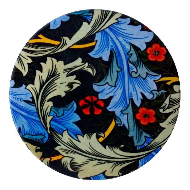 Casa Domani William Morris Blue Acanth 10 cm Ceramic Coaster