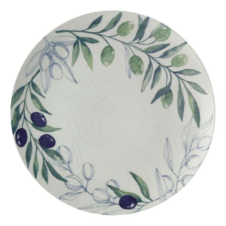 Casa Domani Olive Grove Round Plate